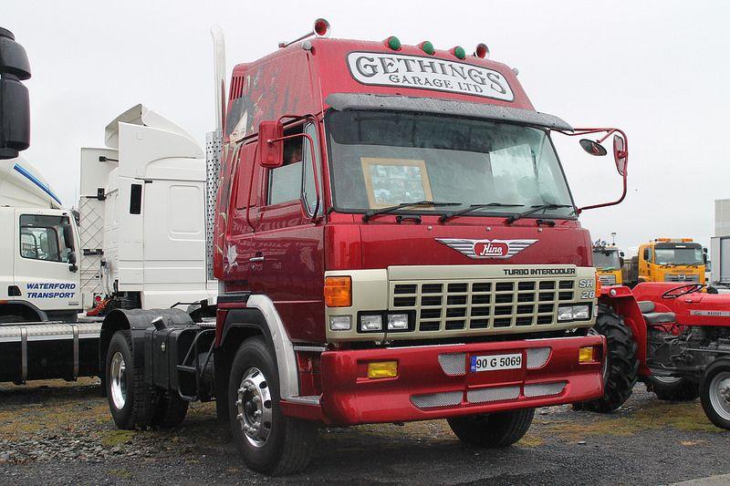 Hino Sh 28 90g5069 Trucks Vehicles Tractors
