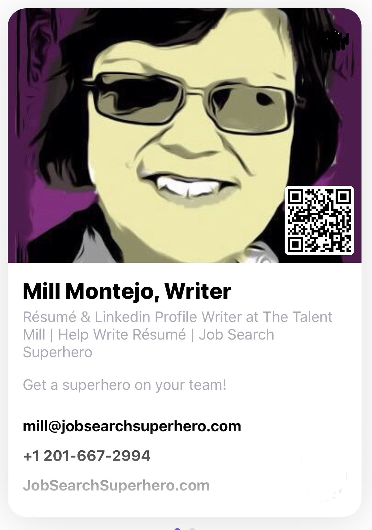 Mill is a Nationally Certified Online Profile Expert