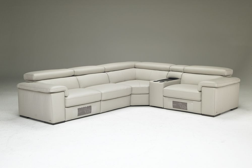 Natuzzi EditionsSectional  Modern Leather Sectionals