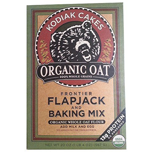 Kodiak Cakes Organic Oat Flapjack and Baking Mix (20 OZ) -- SPECIAL OFFER AHEAD! : baking desserts recipes