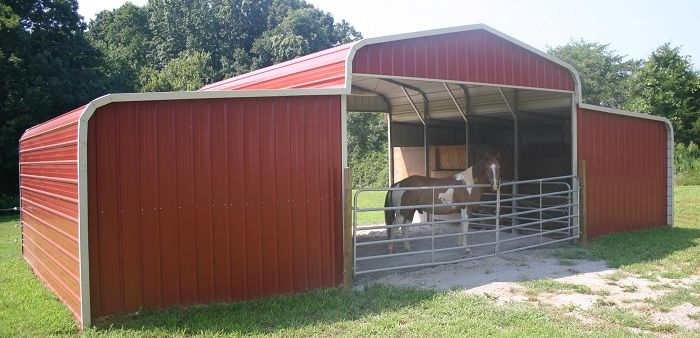 Quick and easy metal barns pinteres for Small metal barns