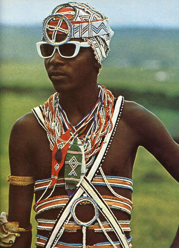 Africa   In the early 1970s Jean Broster and Alice Mertens collaborated on African Elegance, a book which set out to 'describe in photographs and words the beauty of the tribal people of the Transkei'. The Transkei was a former independent territory of South Africa during Apartheid.  Photo taken out of this book.