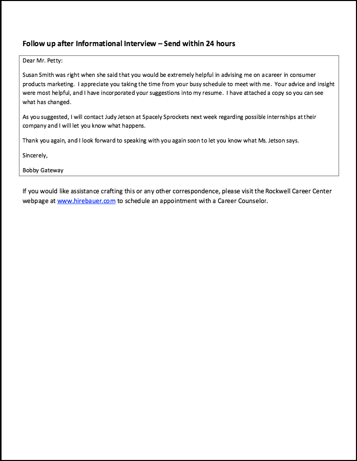 Resume Follow Up Email Sample Thank You Email Samples  Httpresumesdesignthankyouemail .