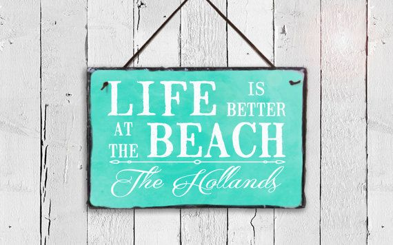Welcome To Our Beach House Beach House Sign Beach Home Etsy