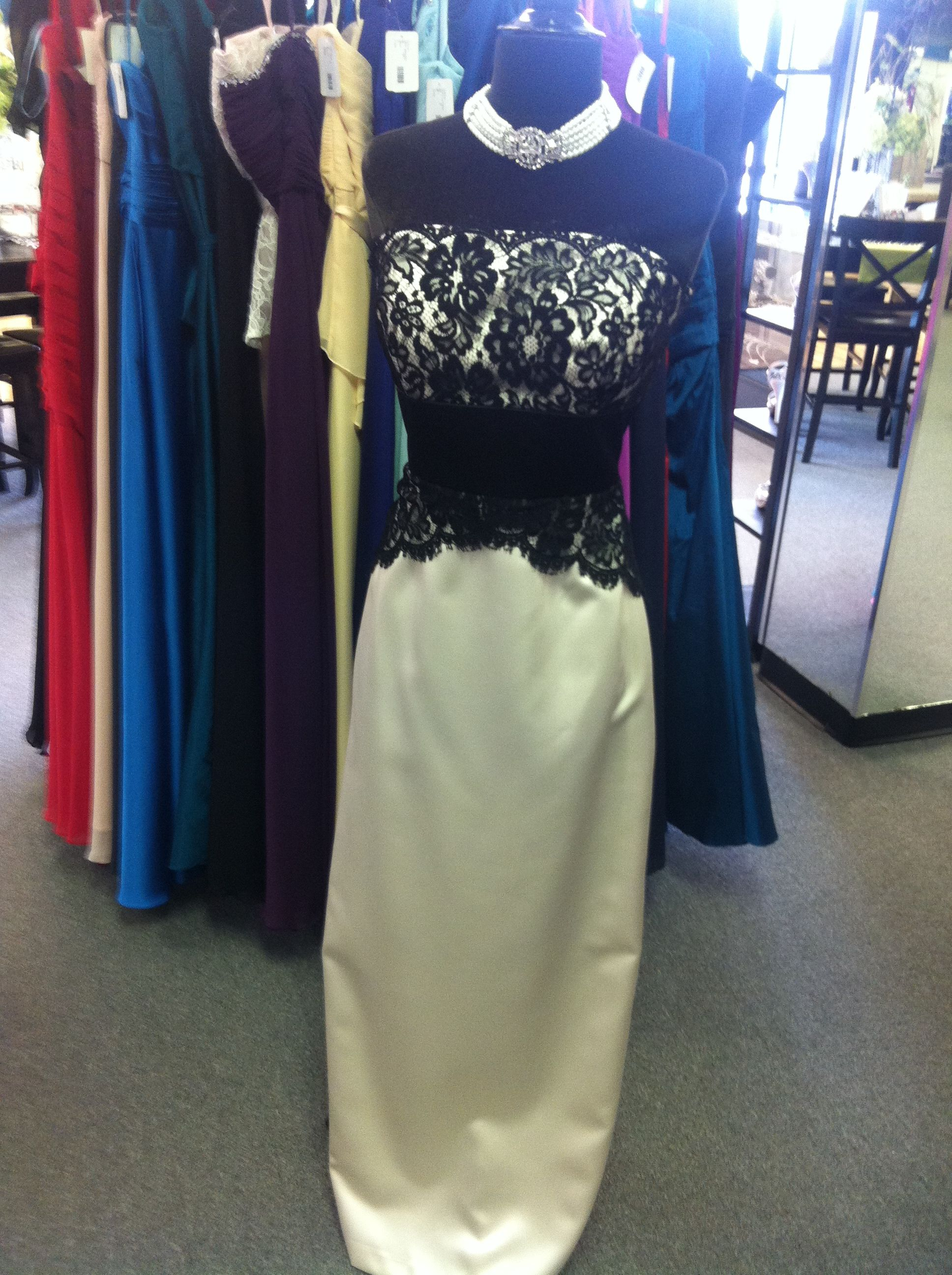 This gorgeous gown from designer #Dessy would be perfect for any #formal event!