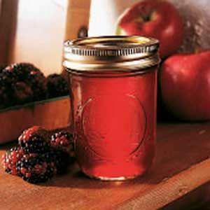 Blackberry Apple Jam Recipe...makes 9 half pints, uses 2 pkg liquid pectin.
