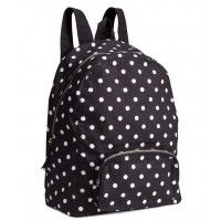 5af47c0d1bad H&M fekete-fehér pöttyös hátizsák - Hátizsák - Táska - Női - Shopping