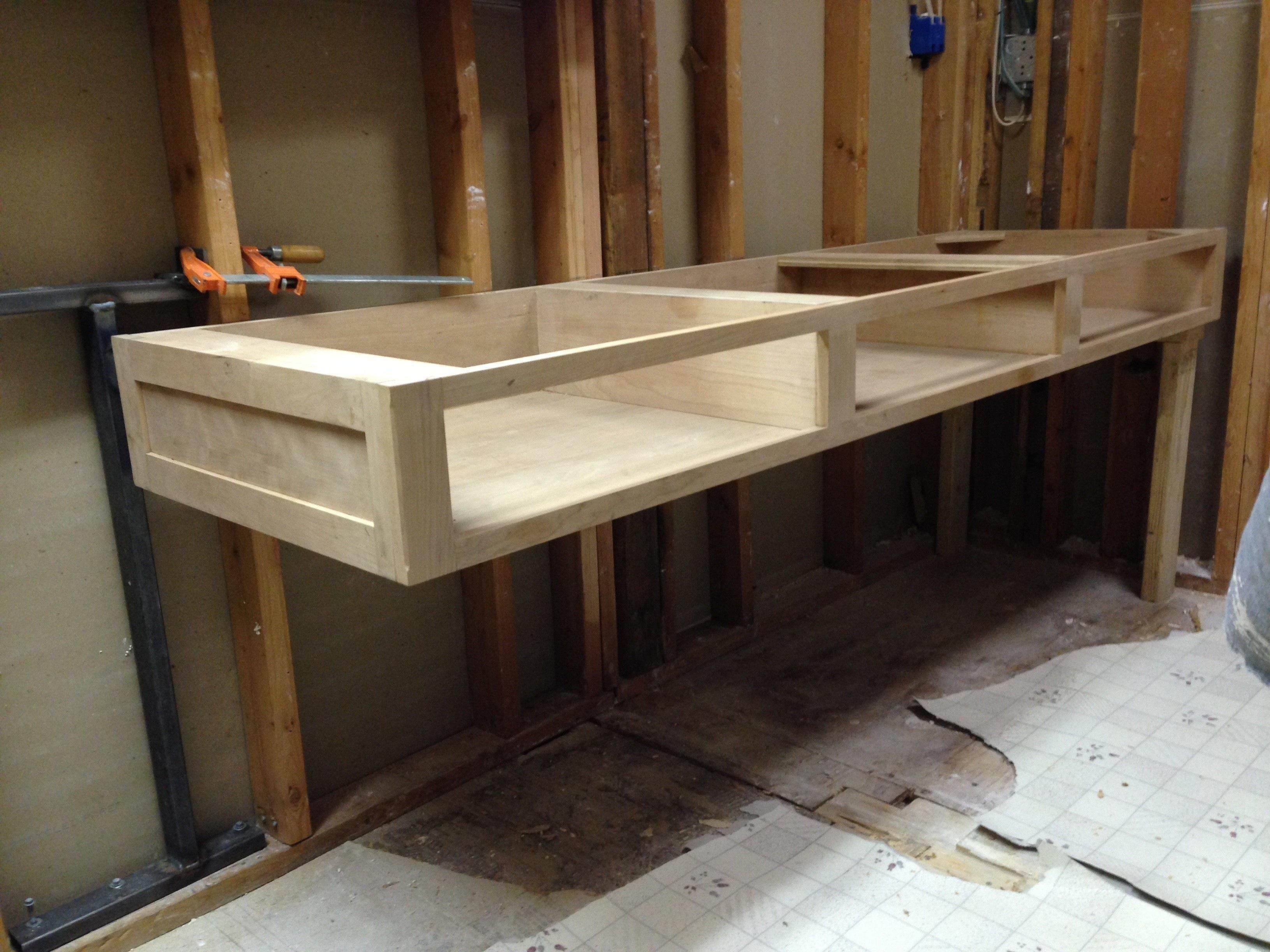 Reclaimed Wood Floating Shelves Diy Lovely Floating Bath Vanity