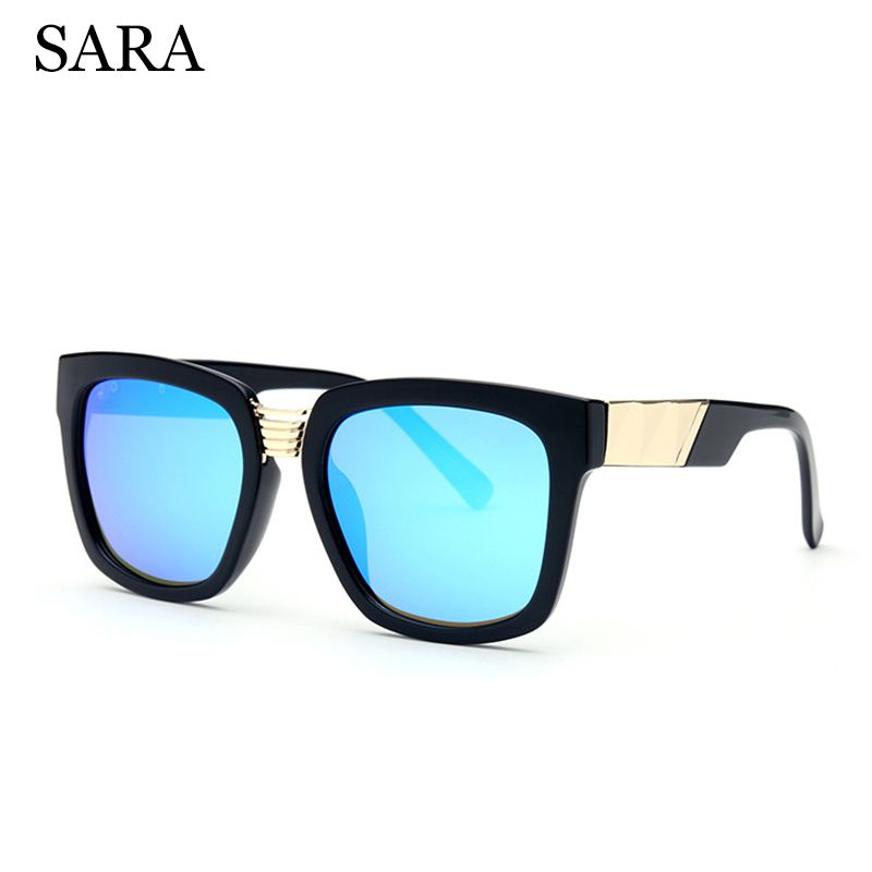 SARA Polarized Sunglasses Women Retro Oversize Lens Style TR90 ...