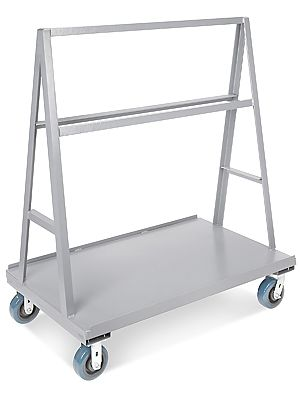 A-frame warehouse panel truck. Generally used for moving plywood ...