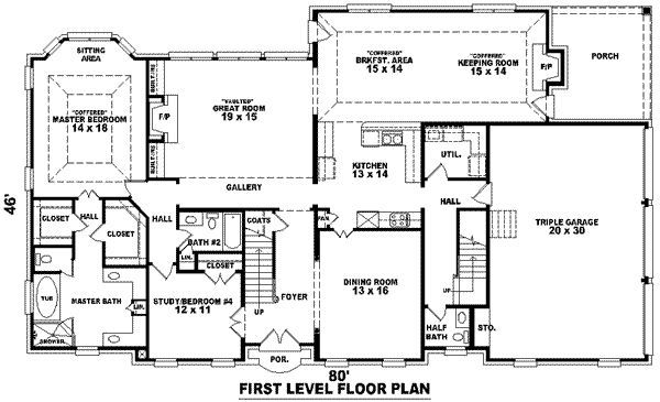 Image result for most beautiful house plans 3500 square feet ... on