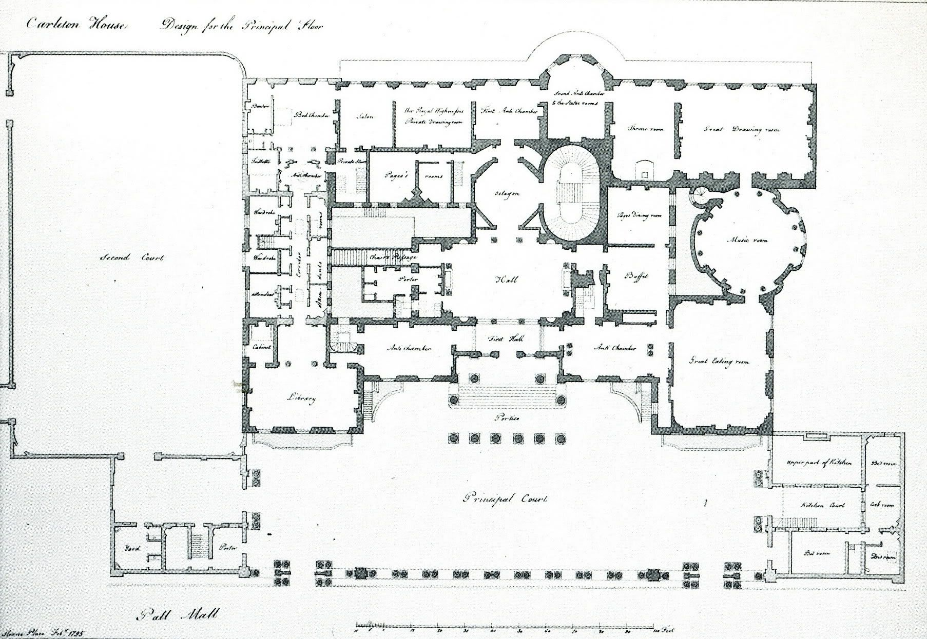 Carlton House London A Virtual Tour Of The Entrance Rooms
