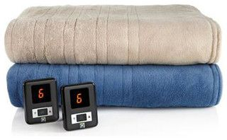LivingQuarters Heated Electric Blanket - contemporary - bedding - other metro - by Herberger's