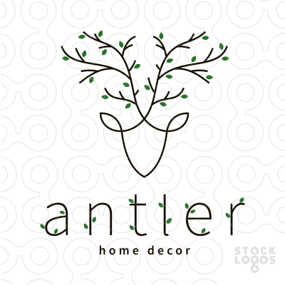 Antler Deer Home Decor