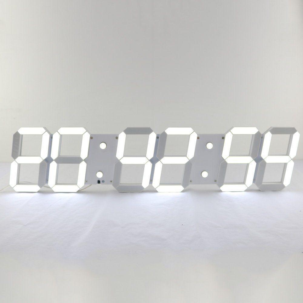 digital office wall clocks digital. Fancy - Jumbo LED Digital Wall Clock Plus Office Clocks A