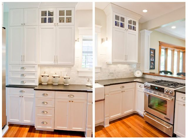 Kitchen Remodel Love The Mixture Of Different Types Of Hardware Cool Kitchen Knobs Inspiration