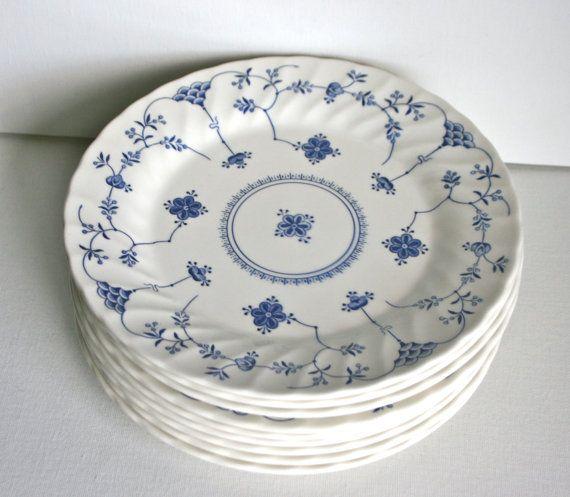 Vintage Churchill Finlandia Dinner Plates & Vintage Churchill Finlandia Dinner Plates | Dishes/Glasses/Vases ...