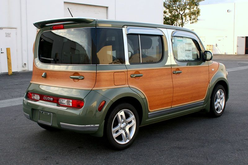 26eb38515215 Nissan Cube Customization by Iconography