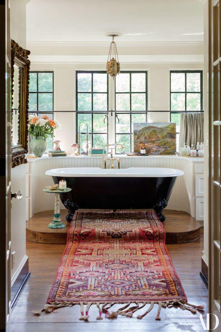 Photo of Das Haus in Nashville von Lily Aldridge ist ein Fall für mutige Antiquitäten … – 2019 – Bathroom Diy