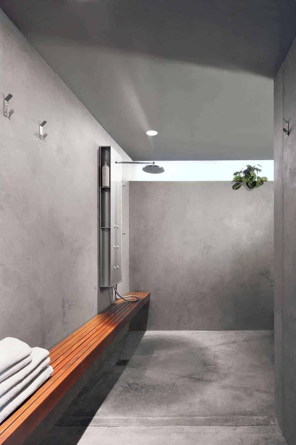 36 Doorless Walk In Shower Ideas And Designs 2020 Edition In 2020 Showers Without Doors Concrete Bathroom Bathroom Interior Design