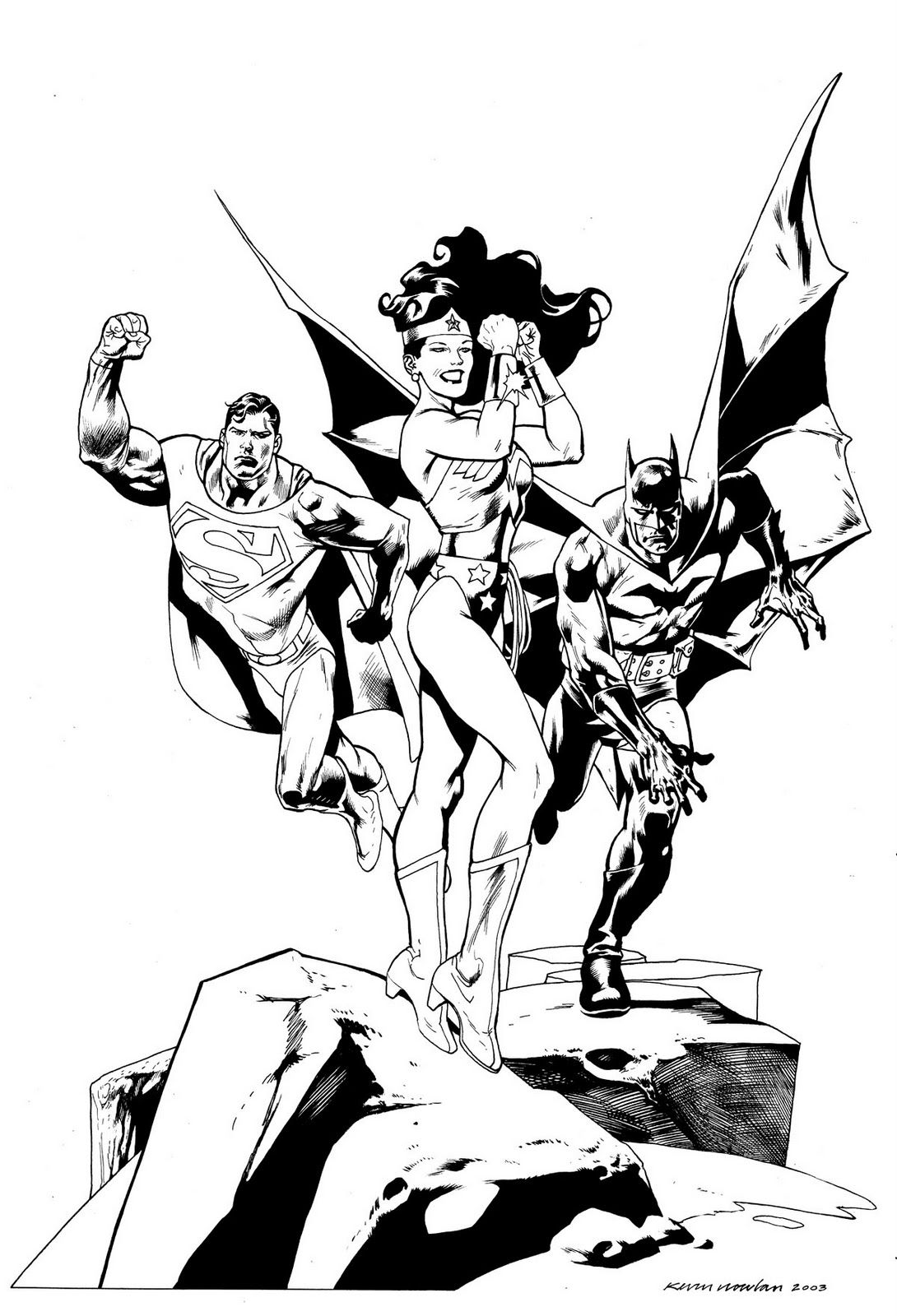 kevin nowlan inking masters of the medium kevin nowlan