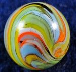 Marble By Christensen Agate Company Guinea Marbles