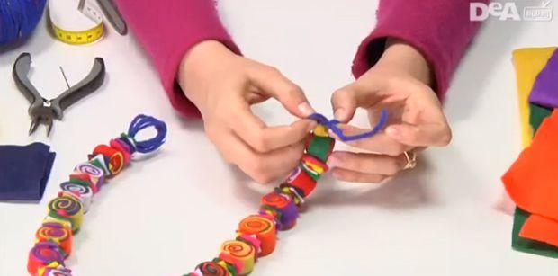 Crea collane fai da te con il riciclo creativo