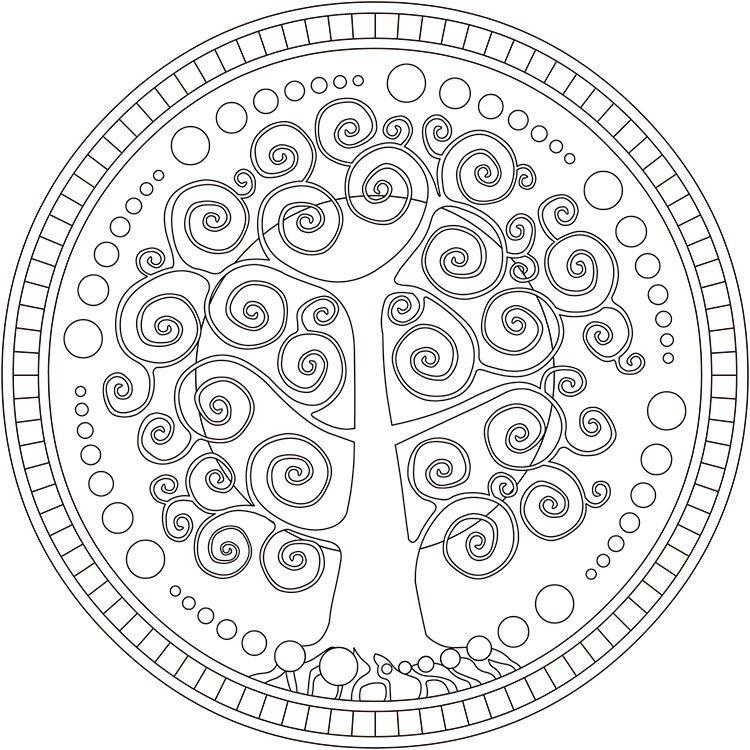 Dibujo De Arbol Para Colorear Latest Arbol Genealogico Para