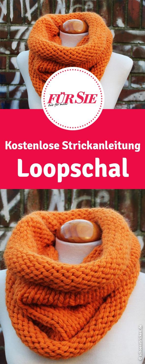 Photo of Anleitung: Loop aus dicker Wolle stricken