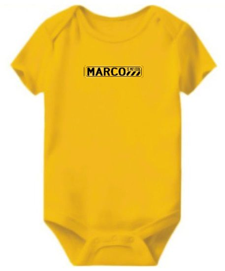 Enterizo de Bebe Marco Is My Idol | Enterizos de Bebe | Pinterest ...