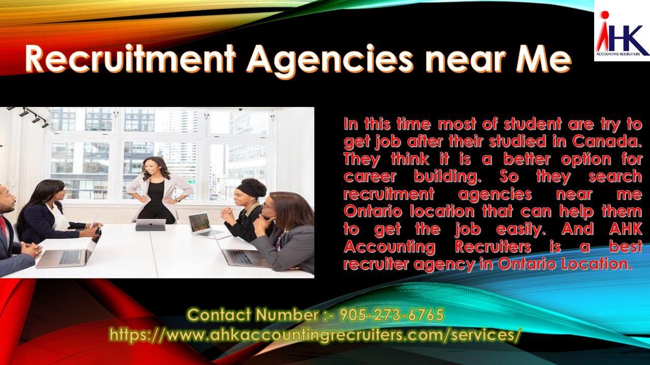 Staffing Employment Recruitment Agencies Near Me