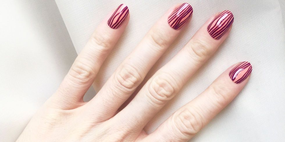 A Wood Grain Manicure Inspired by Stella McCartney Spring \'16 ...