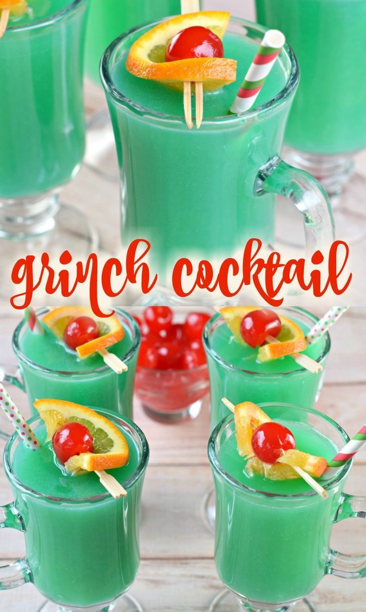 Grinch Cocktail, #Cocktail #Grinch
