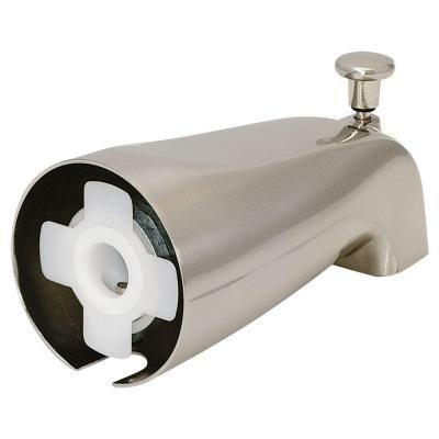Ez Flo Slide On Diverter Spout Brushed Nickel 15088 In 2020