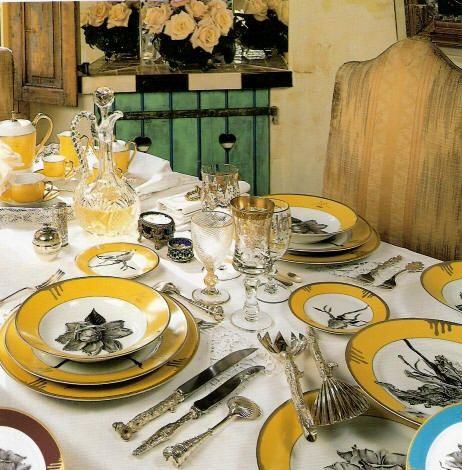 Dinnerware   Nall and Robert Haviland & C. Parlon present Tuscia\'s ...