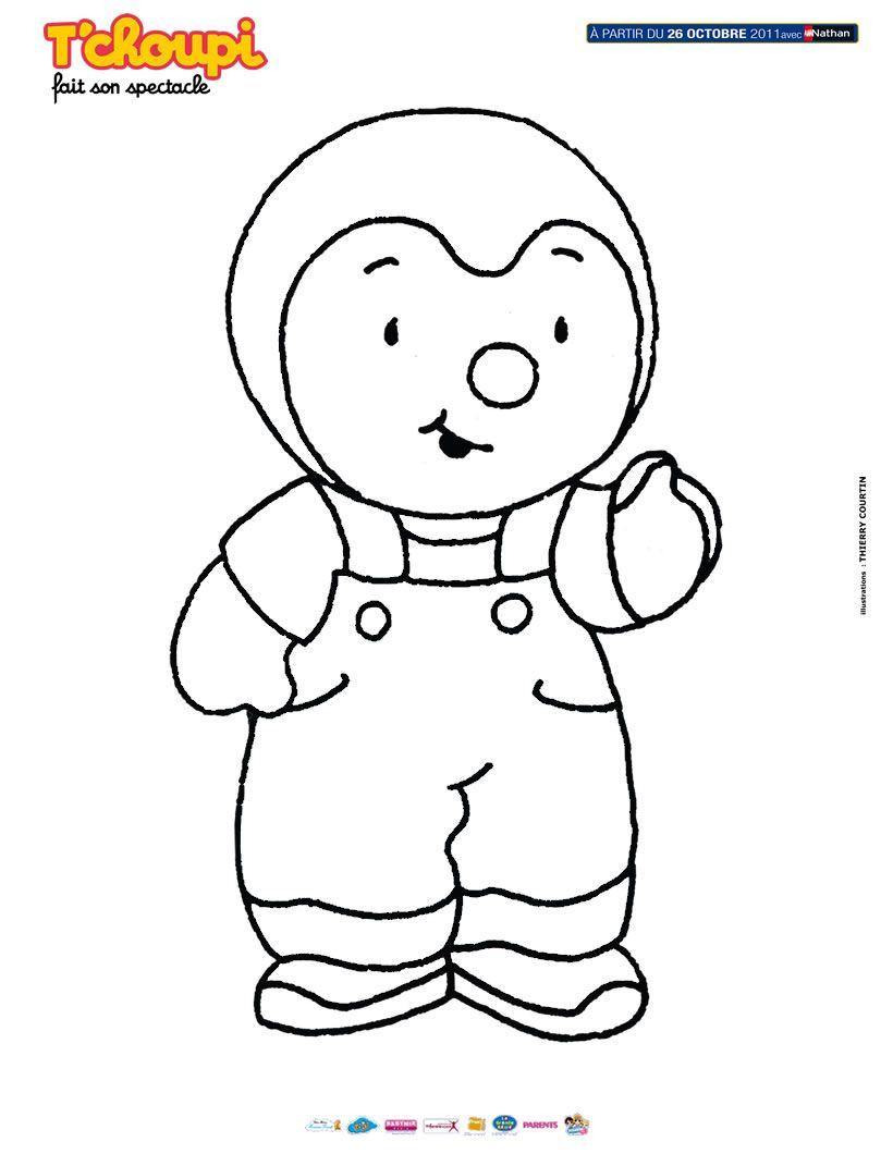 Comment dessiner t choupi - Dessin de tchoupi ...