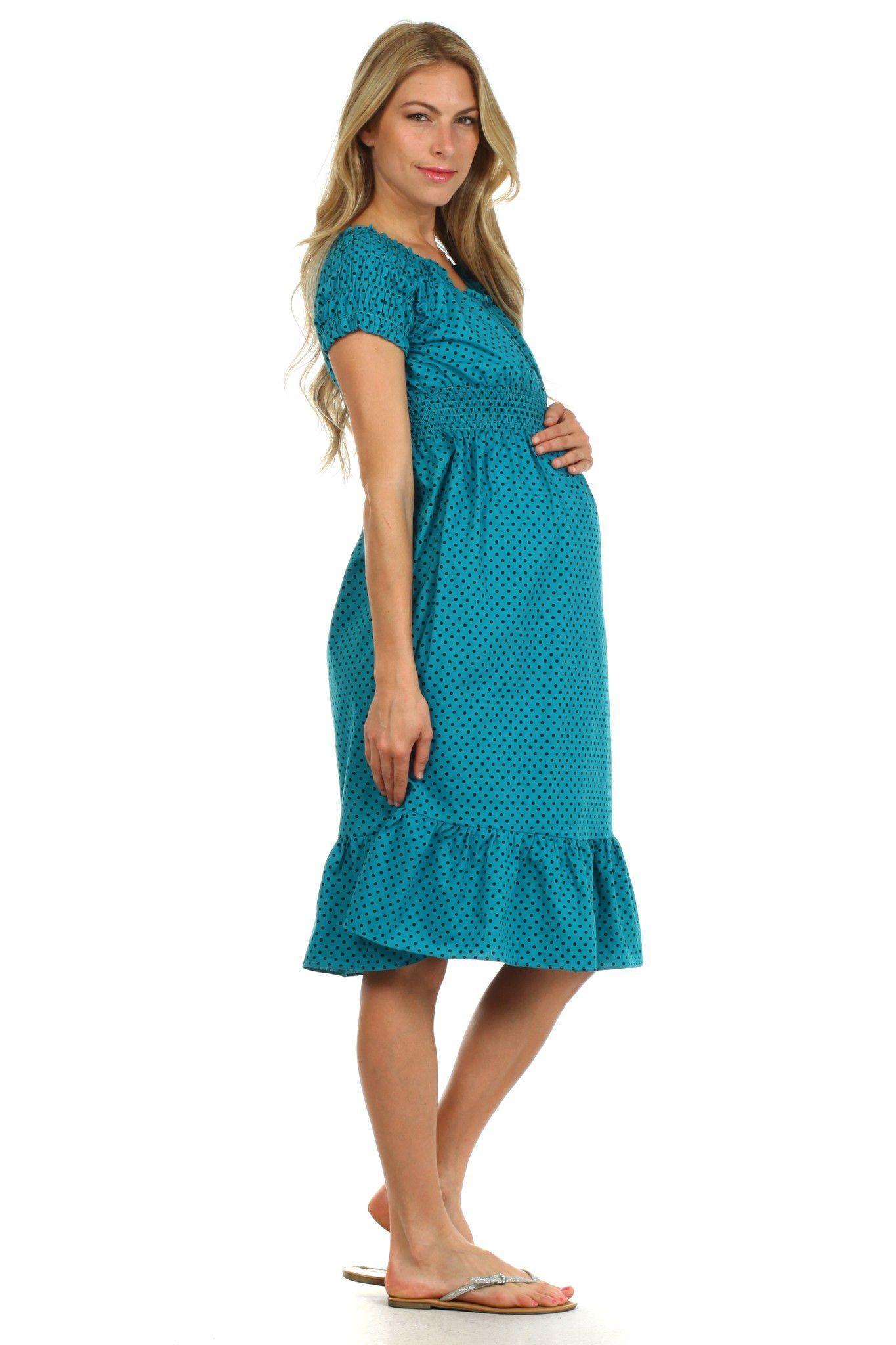 Breastfeeding dresses for weddings  Kate Ruffled Peasant Nursing Dress  Nursing dress Maternity and