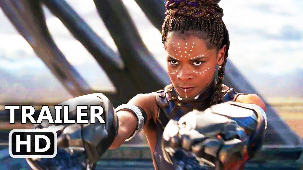 Black panther official trailer 2018 marvel superhero