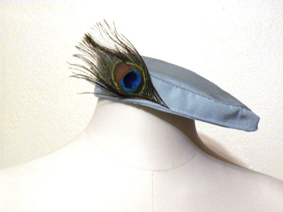 Feathered Harlow Fascinator by Gaton on Etsy, $20.00