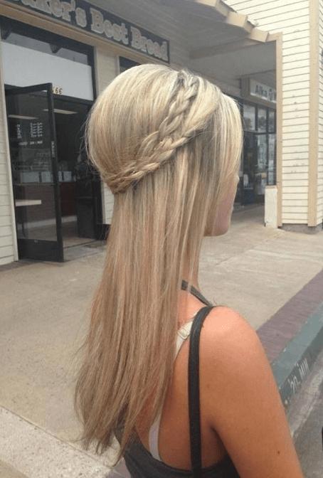diadema de trenza molona | Peinados Chulos | Pinterest