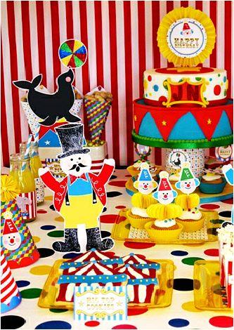 Anniversaire cirque kit printables d corations imprimer kids birthday pinterest - Decoration mexicaine a imprimer ...