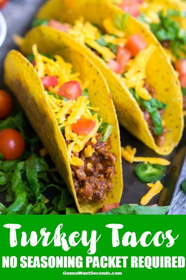 Turkey Tacos #groundturkeytacos
