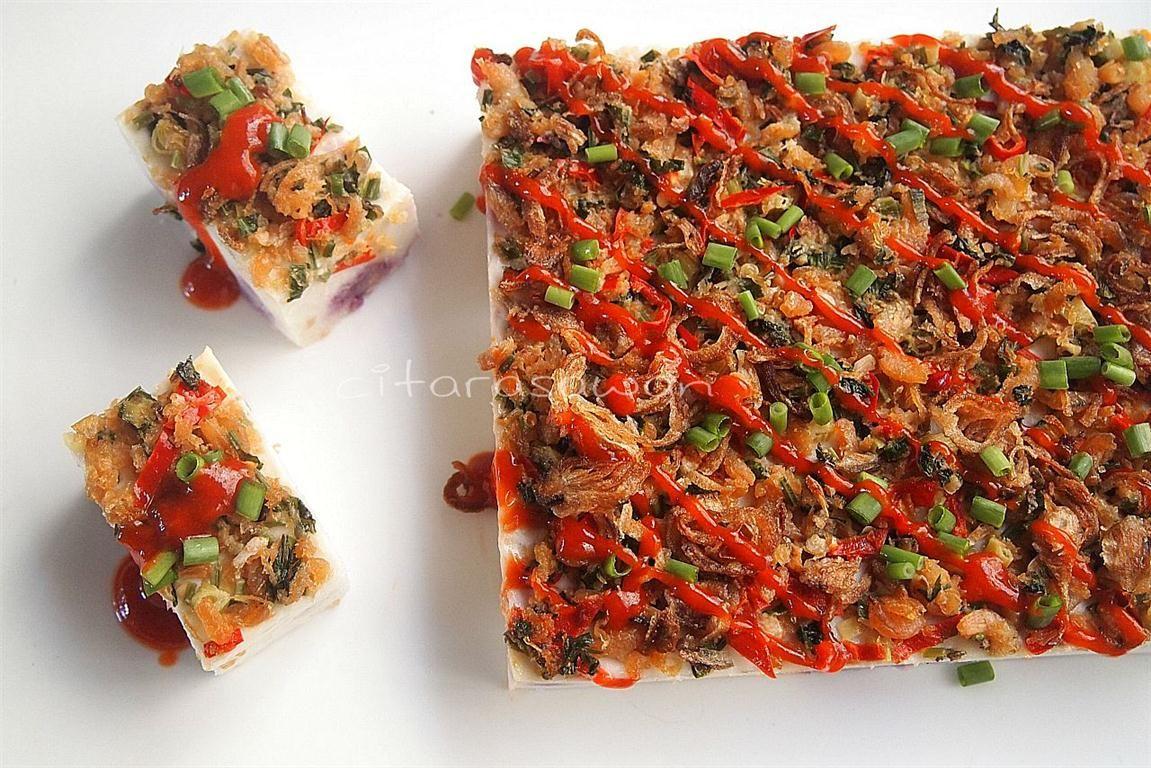 Resipi Citarasawan Talam Keladi Berlauk Recipes Sweet Savory Food