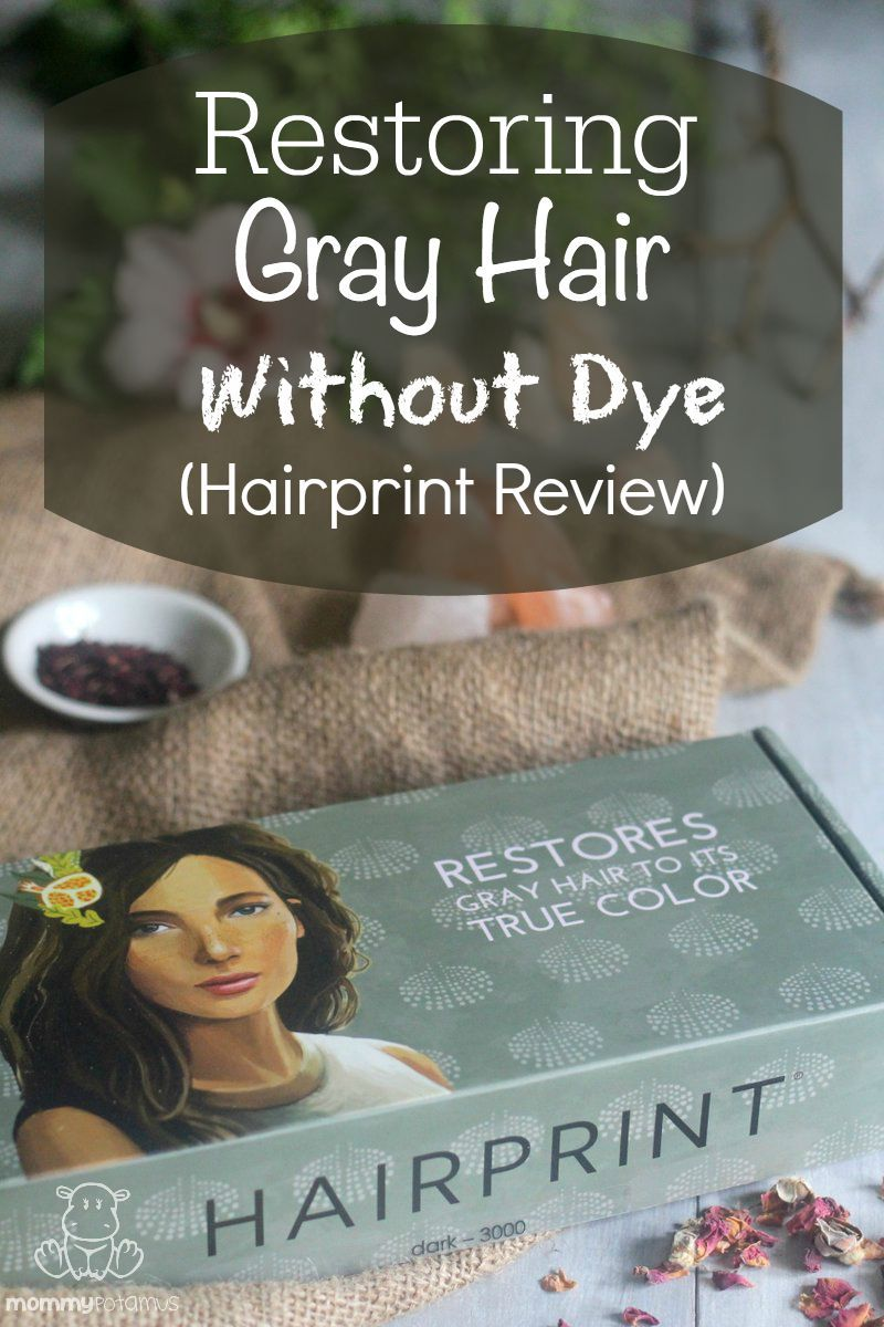 How To Reverse Gray Hair To Its True Color Without Dye