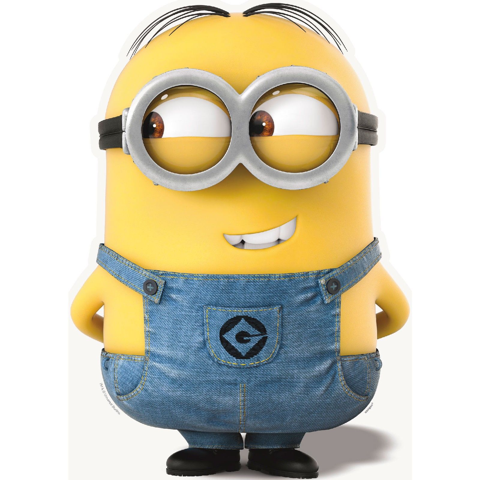 3499  Minions Dave Lifesize Standup 25Ft Party Supplies Canada