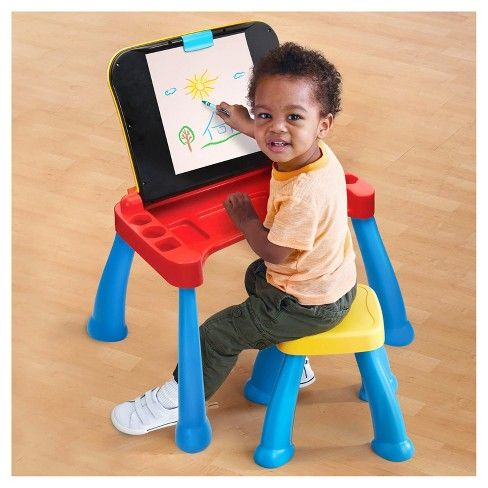 VTech Touch and Learn Activity Desk Deluxe : Target | Kids ...