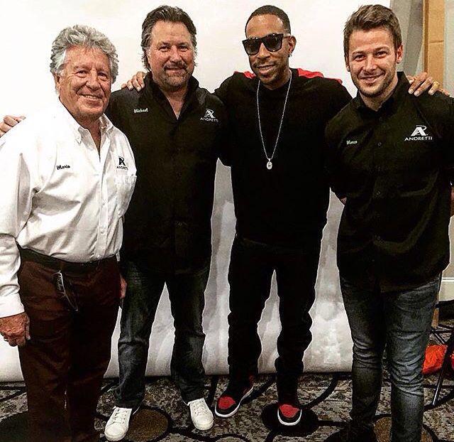 Ludacris Cars: Mario Andretti, Michael Andretti, Ludacris, And Marco