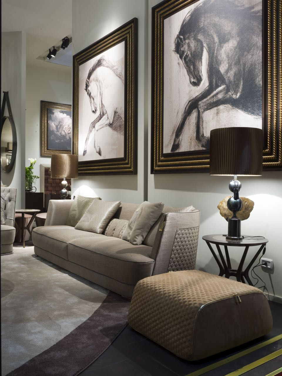 a luxury living room by vittoria frigerio italy