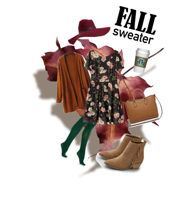 """""""Fall weather - My style"""" by michalea-bland-nichols on Polyvore featuring DKNY, Aéropostale, Tory Burch and American Eagle Outfitters"""