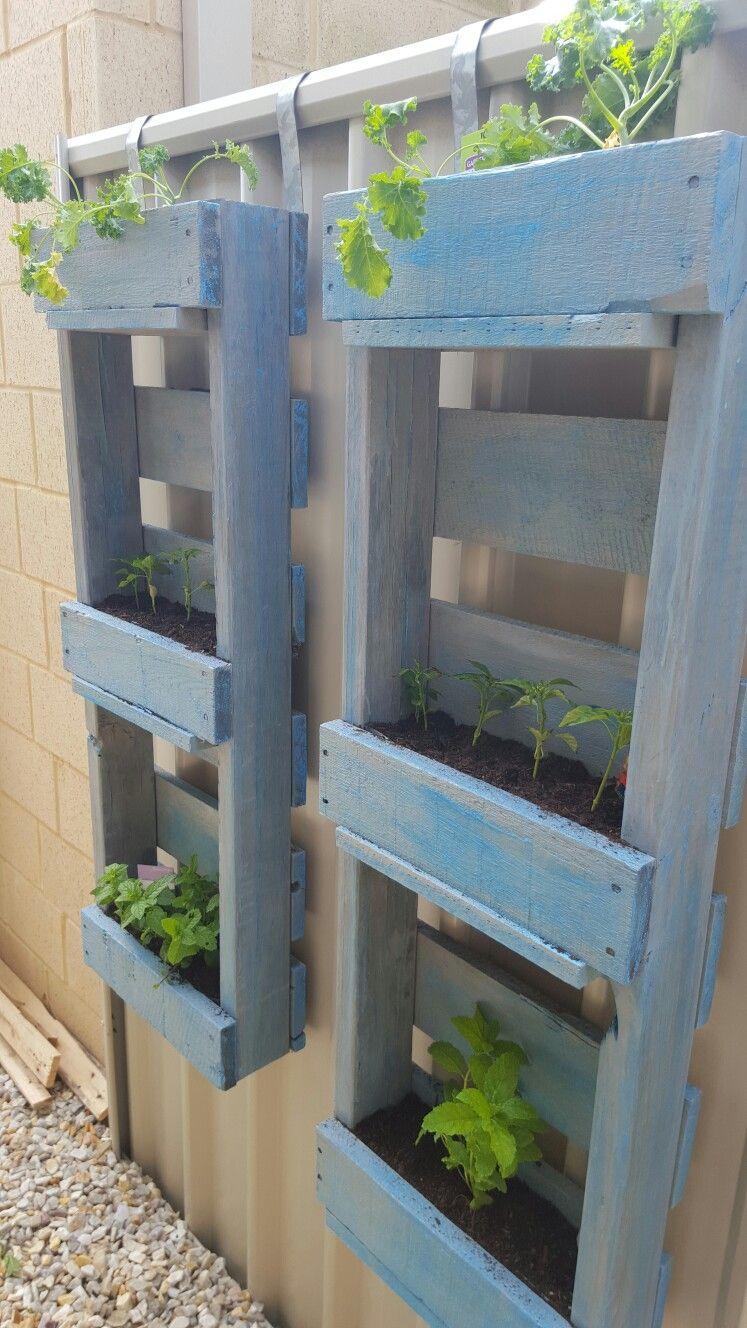 garden pallet furniture. Wood Decore Garden Pallet Furniture Pot Plants Herb